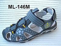 Качественные спортивные сандалии, босоножки мальчикам с защитой на носке от ТМ Том.М