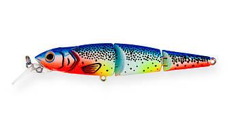 Воблер Strike Pro Flying Fish Joint 110 тонущий трехсоставной 11,2см 19,5гр Загл. 1,7-3,0м#A141