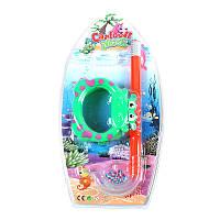 Детский набор для плавания (маска+трубка)