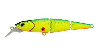 Воблер Strike Pro Flying Fish Joint 70 тонущий трехсоставной 7см 7,2гр Загл. 0,3-1,5м#A17S