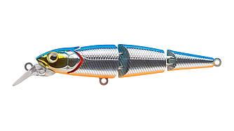 Воблер Strike Pro Flying Fish Joint 90 тонущий трехсоставной 9см 12гр Загл. 0,7-1,7м#626E