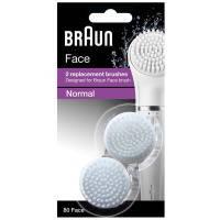 Щетка braun для очистки лица se80 face 2шт (81491931)