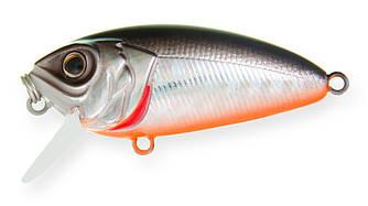 Воблер Strike Pro Stumpy Fly 40 плавающий с мухой 4,2см 4,5гр Загл. 0,1м -0,3м#A70-713