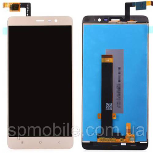 Дисплей Xiaomi Redmi Note 3 / Redmi Note 3 Pro c тачскріном (Gold)