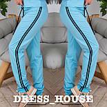 Женские модные штаны с лампасами (4 цвета), фото 6