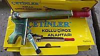КЛЮЧ ЧИРОЗОВ усиленный для монтажа (рычаг для установки чироза на арматуре), фото 1