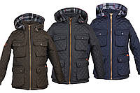 Детская демисезонная куртка на флисе. Размеры с 30 по 46