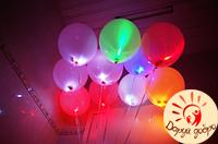 № 8 Светящиеся шары c гелием 25 см Днепр