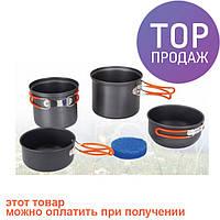 Набор посуды из анодированного алюминия Tramp TRC-075/туристическая посуда