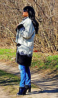 Пальто демисезонное из натуральной шерсти