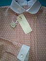 Блуза детская школьная Maria Размеры 134, 146 Пудра, фото 4