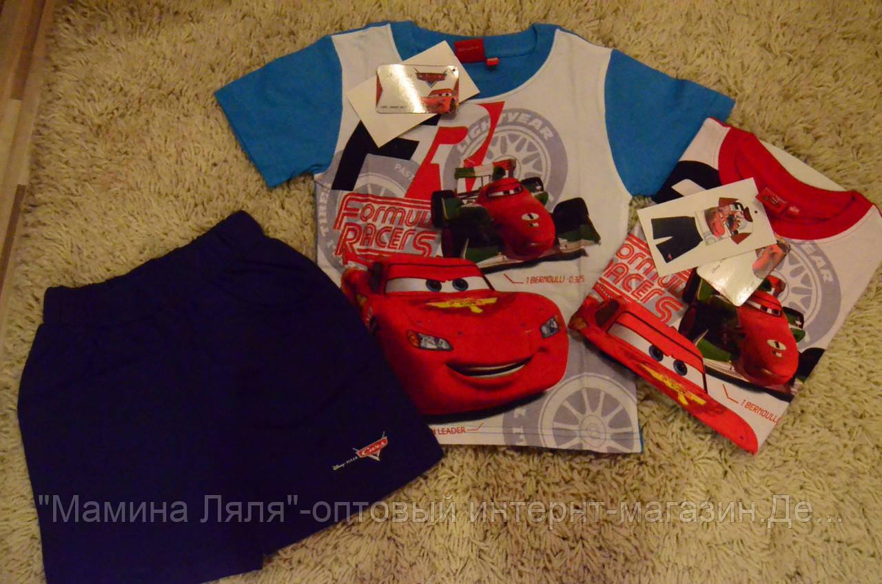 539f2709153 Летний комплект для мальчиков Дисней Тачки Disney McQueen 3-7 лет -