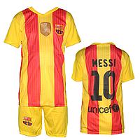 Спортивная форма для футбола ФК Барселона M1 для детей 6-10 лет оптом. Доставка из Одессы.