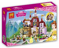 """Конструктор Lele 37001 аналог Лего Принцессы (аналог Lego Disney Princess 41067) """"Заколдованный замок Белль"""""""