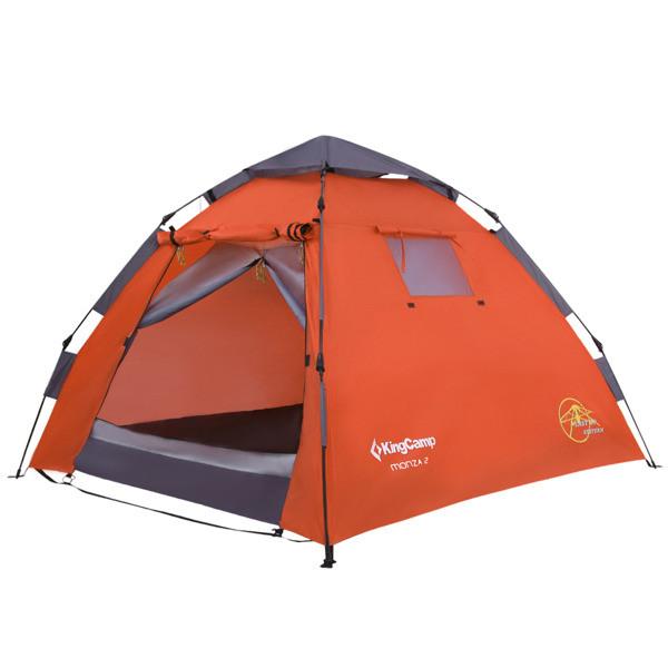 Палатка King Camp Monza 2-х местная (KT3093) оранжевый