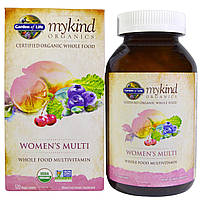 Garden of Life, MyKind Organics, Women's Multi, 120 табл