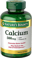Nature's Bounty Calcium 500mg with Vitamin D3 (60 таб.)