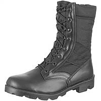 Ботинки Mil-tec Us Black Cordura Jangle Boots