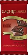 Шоколад молочный Cachet Milk Chocolate 32%, 300 г (Бельгия)