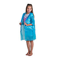 Детский плащ дождевик на липучках