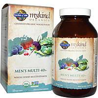 Garden of Life, MyKind Organics, Men's Multi 40+, 120 табл
