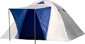 Палатка Kansas Iglo 3-х местная (бело-синий)