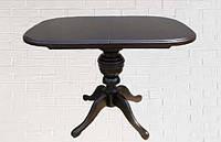 Стол раскладной Эмиль венге 105(+38)x75x74 овальный