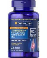 Puritan's Pride Glucosamine Chondroitin MSM Double Strength (60 таб.)