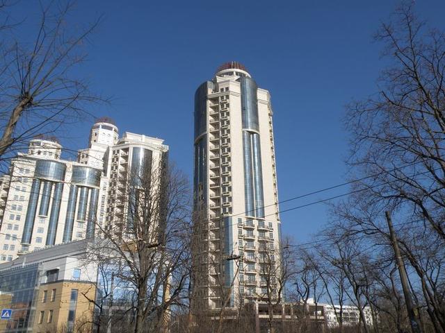 Продажа эксклюзивной квартиры в ЖК «Арк Палас» массив Аркадия, улица Генуэзская, площадью 90 метров