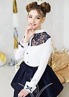 Школьная блузка для девочки К4