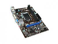 Socket 1150: MSI H81M-P33, 2xDDR3, VGA, DVI, 1xPCIEx16x, 1xPCIEx1x, 2xSATA3, 2xSATA2, 2xUSB3.0, 4xUSB2.0, 1xLAN, 2xPS/2, Realtek ALC887 8-Channel High