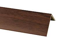 Декоративний кут Горіх темний 20х20  2,75м