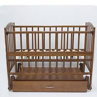 Дитяче ліжко Lux -Тем.Горіх