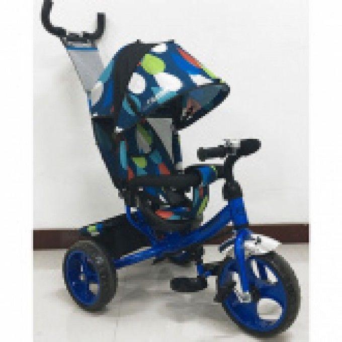 Детский трехколесный велосипед ГОЛУБОЙ (M 3113-5-D) с пенополиуретанов