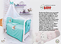 """Детская постель в кроватку """"MIMIKIDS"""" Banny 8 ел"""