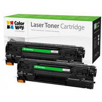 Картридж ColorWay для HP CB435AF/CB436A/CE285A/Can.712/725 DUAL PACK (CW-H435/436FM)