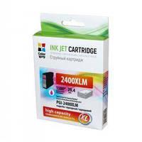 Картридж ColorWay Canon PGI-2400XL Magenta MB5040/MB5340/IB4040 (CW-PGI-2400XLM)