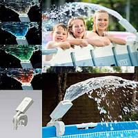 Intex Акция! Фонтан с подсветкой для бассейна Intex 28089. Тотальная распродажа! Количество товара ограничено! (до 29.06.2017)