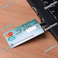 Флешка Кредитка на 8 гб.