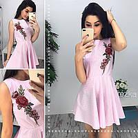 Платье женское с вышивкой 33765 Платья женские летние
