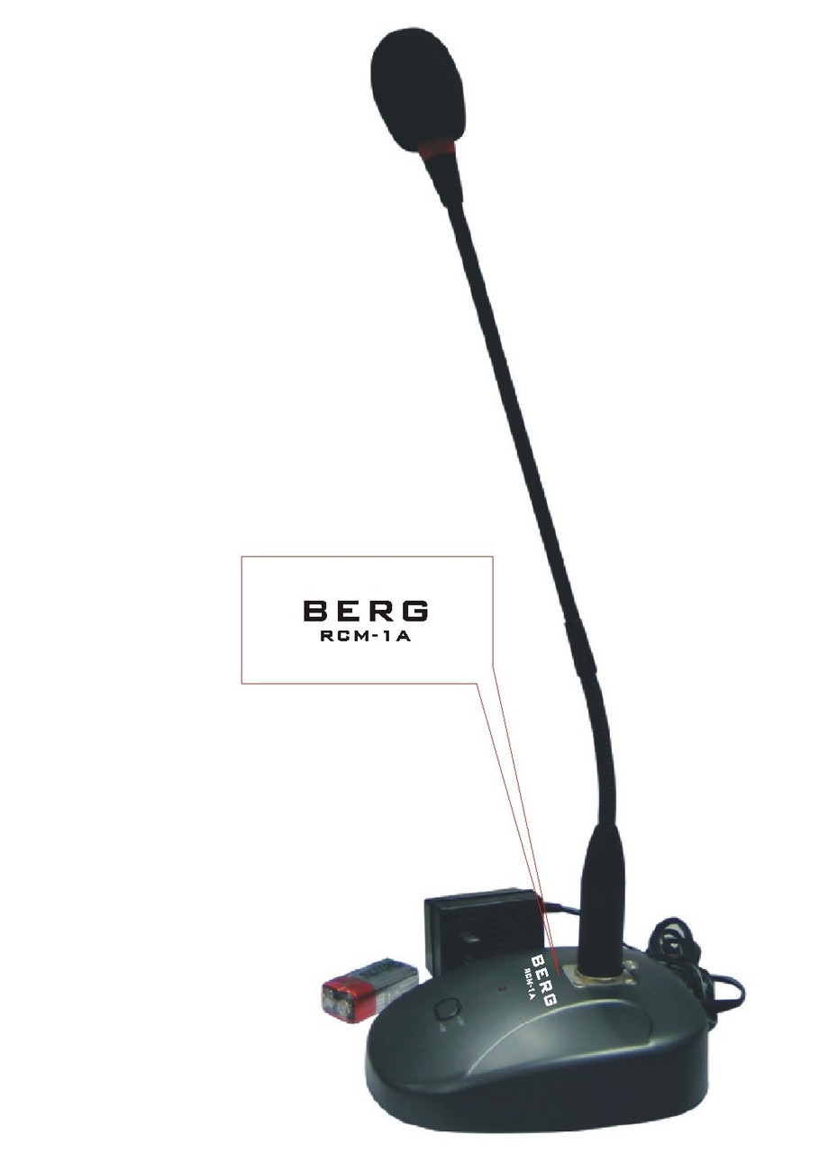Мікрофон для мови Berg RCM-1A fe694ec03847e