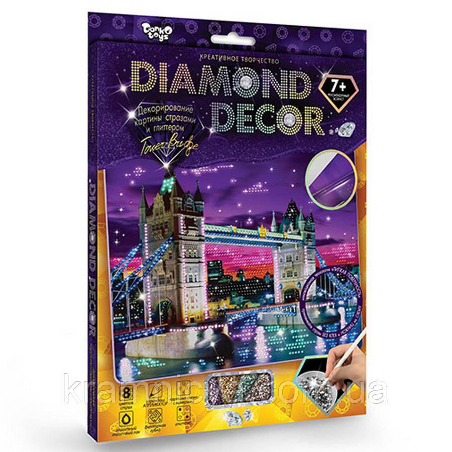 Алмазная мозаика 'DIAMOND DECOR' Тауэрский мост (DD-01-03)