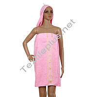 Набор для сауны женский Merzuka светло розовый