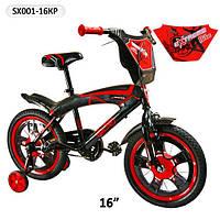 """Детский двухколесный велосипед  16"""" Extreme SX-001."""