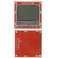 84x48 графический ЖК дисплей Nokia 5110, Arduino