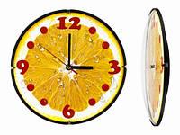 Часы кухонные настенные круглые Апельсин