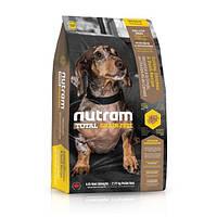 Корм беззерновой Nutram T27 Total Grain-Free Mini Turkey, Chiken & Duck для мелких пород собак, 6,8 кг