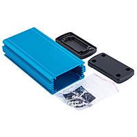 ALUG702BU120 корпус алюминиевый (Gainta, синий, 68.7x35.2x129 мм)