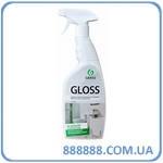 Моющее средство для ванной комнаты и кухни Gloss 600 мл тригер 221600 Grass