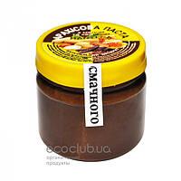 Паста арахисовая с медом и кэробом ТМ Manteca 180г